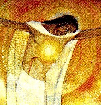 Jésus a souffert dans son corps, son âme et son coeur