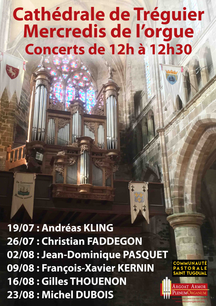 Affiche Mercredis de l''orgue